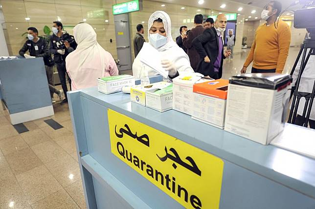Egypt reports first case of coronavirus in Africa amid fears for poorer nations
