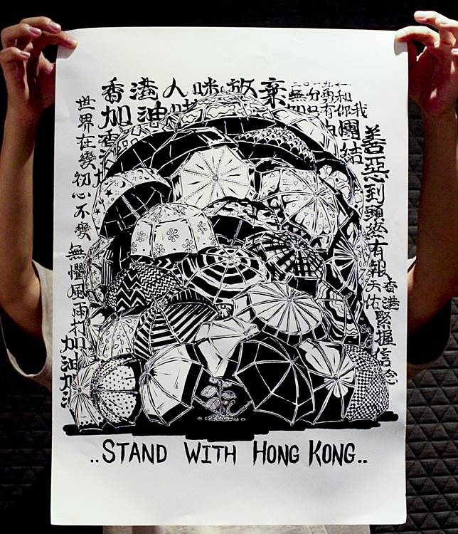 Hong Kong Protest Art Headed For The Streets Of London And Amsterdam