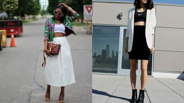 時尚博客的內衣外穿創意穿搭法則!