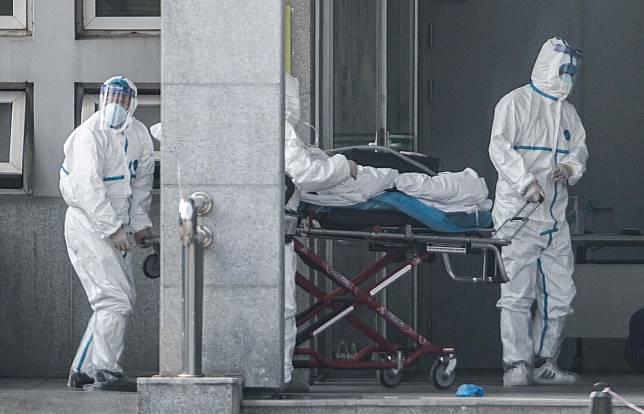 PASIEN terinfeksi virus mirip SARS di Wuhan, Tiongkok. Dinkes Kota Cimahi tingkatkan kewaspadaan kemunculan kasus virus corona atau novel coronavirus.*
