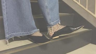 初秋拖鞋穿搭法則,選擇這襪款立刻為整體時尚加分