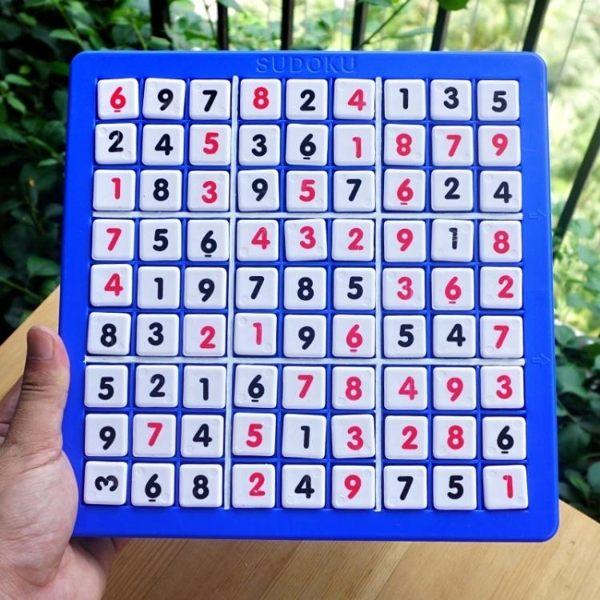 數獨 數獨遊戲棋九宮格 數字遊戲 兒童親子益智玩具 成人智力帶數獨書