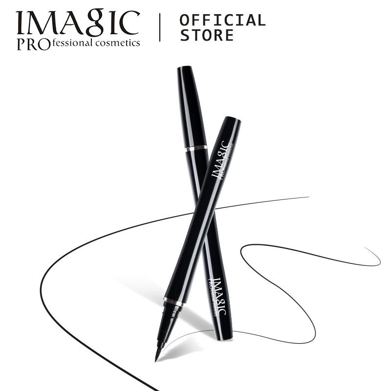 品牌:IMAGIC包裝方式:獨立包裝確保:高質量尺寸:13.8 x 1.5cm(長X寬)外觀顏色:黑色顏色:黑色配銀色(磨砂) 黑配金(亮光)產地:中國包裝: 1支x眼線筆 持久防水眼線筆提供出色的網
