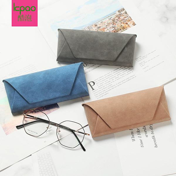 眼鏡盒ins原宿少女便攜眼睛盒收納盒墨鏡盒女簡約韓國可愛少女心