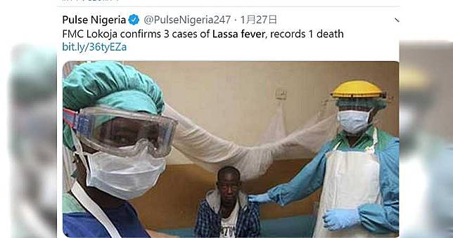 奈及利亞爆發「拉薩熱」確診195例 已奪29命