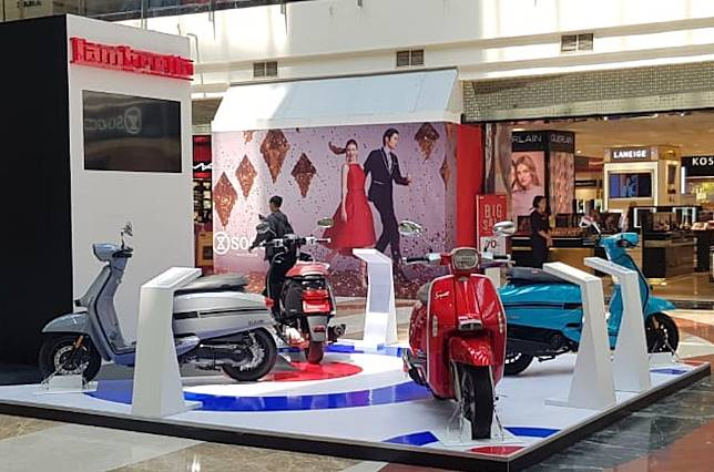Pameran Lambretta di Pondok Indah Mall (14-20/10/2019).