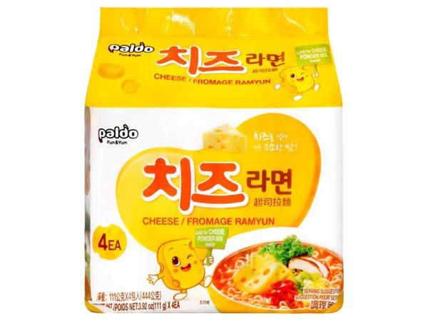 韓國 八道Paldo~起司拉麵(111gx4包)【D100941】團購/泡麵,還有更多的日韓美妝、海外保養品、零食都在小三美日,現在購買立即出貨給您。