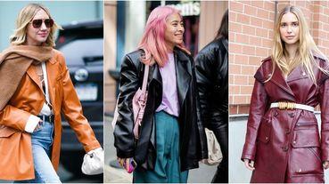 西裝外套落伍了!被超模木村光希、凱亞葛柏穿去時裝周的「 西裝款皮衣外套」這個春天一定要有