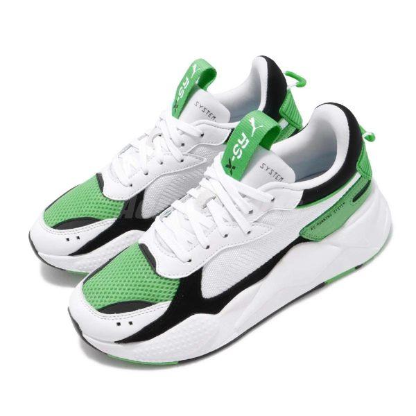 Puma 慢跑鞋 RS-X Reinvention 白 綠 全新系列 老爹鞋 男鞋 女鞋 運動鞋【PUMP306】 36957905