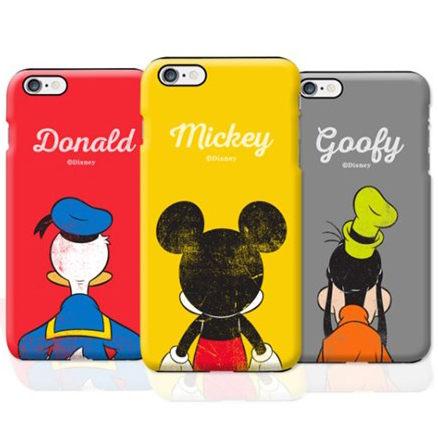 Disney 迪士尼 明星背影 雙層防摔 手機殼│iPhone 5S SE 6S 7 8 Plus X XS MAX XR│z7903