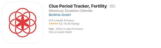 03 Clue Period Tracker, Fertility