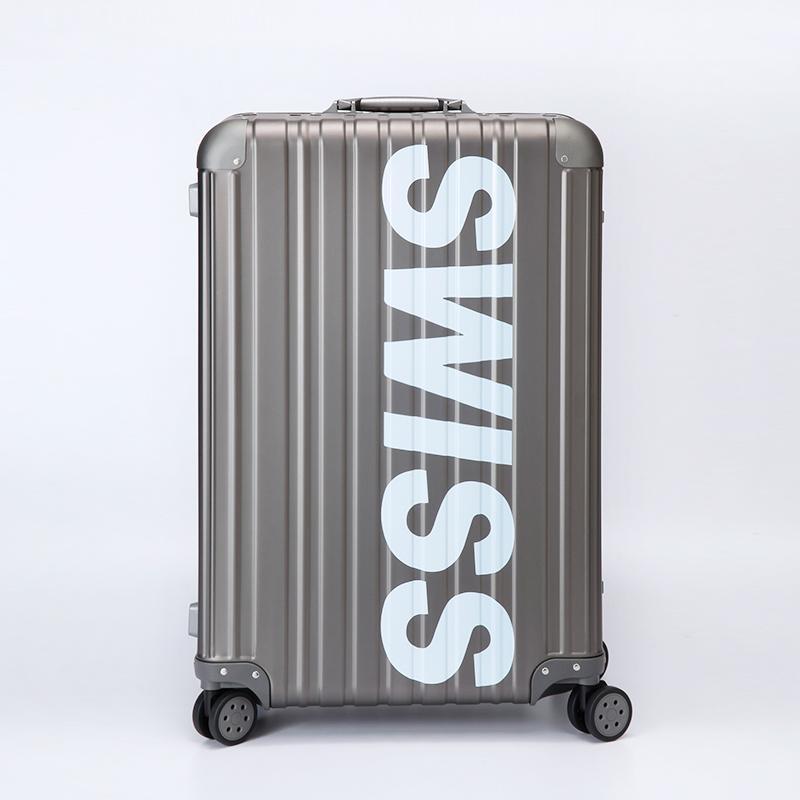 *限量潮款* - Aviator 極緻奢華鋁鎂合金行李箱 26吋-鐵灰色