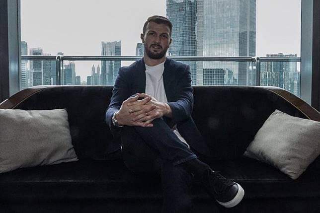 Marco Motta senang Persija jadi klub pertamanya di Asia