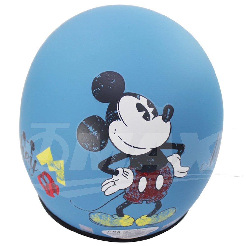 1.前方三個扣環設計 - 方便扣上帽簷或專用鏡片 2.可愛米奇人人喜愛,歷久不退流行 3.本公司為迪士尼正版卡通授權商