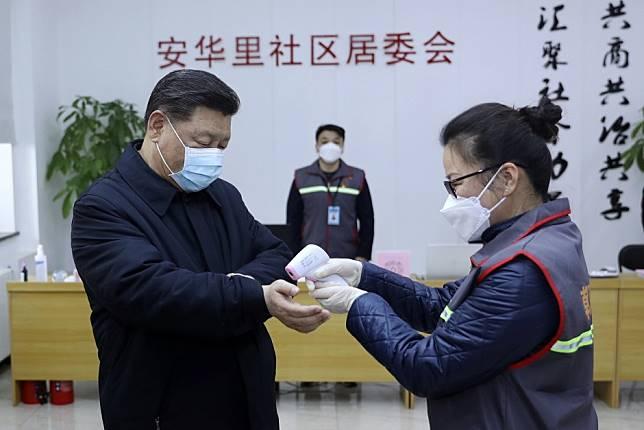 Coronavirus is China's fastest-spreading public health crisis, President Xi Jinping says