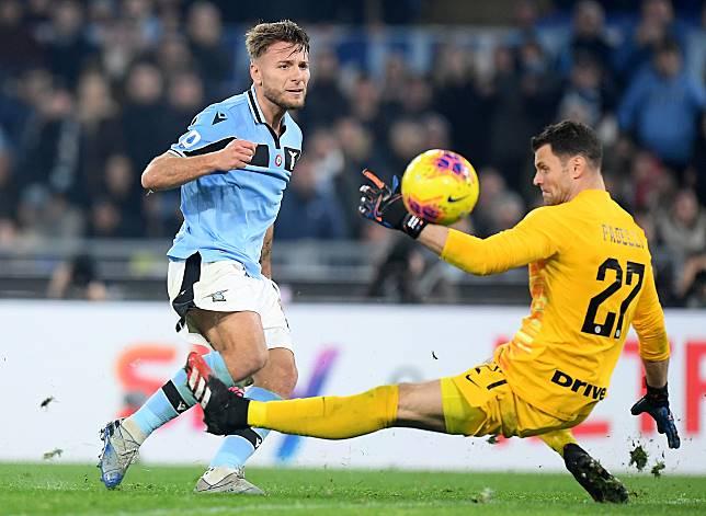 Serie A - Lazio v Inter Milan