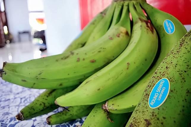 diekspor ke Malaysia Pisang agung Lumajang