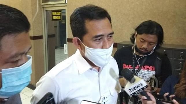 Kepala Satuan Reserse Kriminal Polres Metro Jakarta Selatan Ajun Komisaris Besar Irwan Susanto ditemui awak media di kantornya, Senin, 13 Juli 2020. Tempo/M Yusuf Manurung