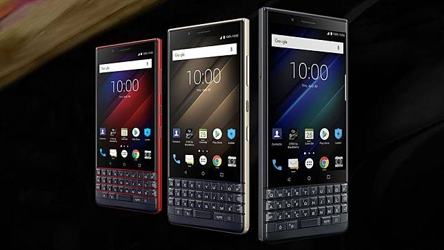 Ilustrasi BlackBerry Key2 LE