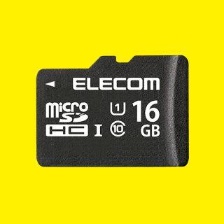 【ELECOM】microSDHCカード