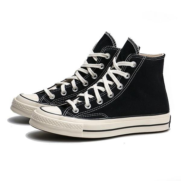 CONVERSE CHUCK TAYLOR ALL STAR 1970 70S 黑 奶油頭 黑標 帆布鞋 高筒 男女 (布魯克林) 162050C