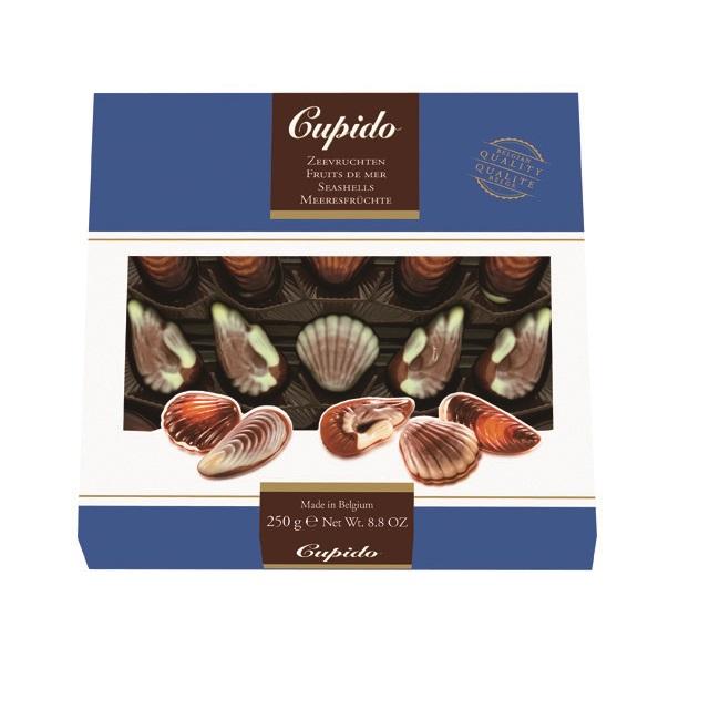 比利時精緻貝殼巧克力禮盒