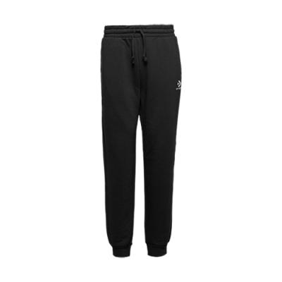 腰圍鬆緊設計 可自行調節 前後共三個口袋,豐富了層次感 褲腳具縮口設計