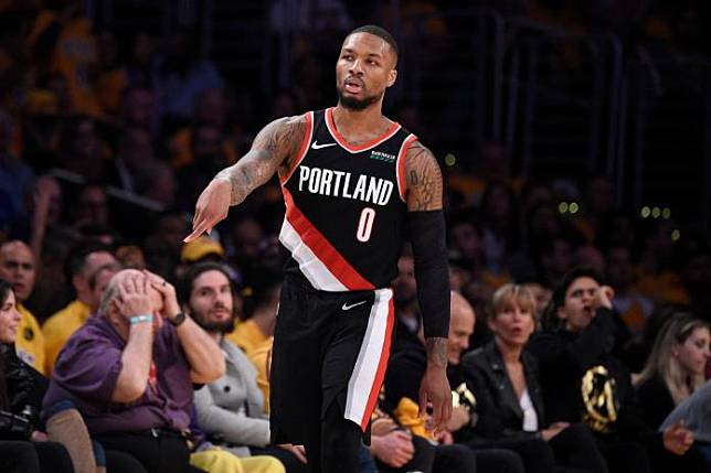 Trail Blazers Lakers Basketball