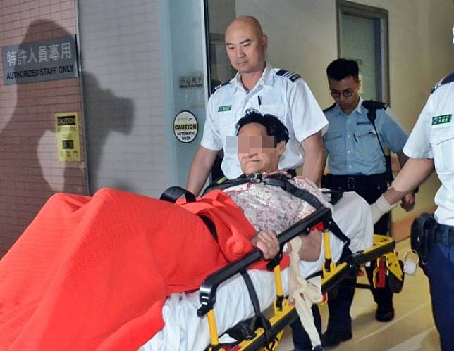 女疑犯下午轉往東區醫院精神科留醫。