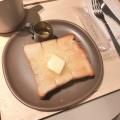ハニーバター・トースト - 実際訪問したユーザーが直接撮影して投稿した神宮前カフェdotcom space Tokyoの写真のメニュー情報
