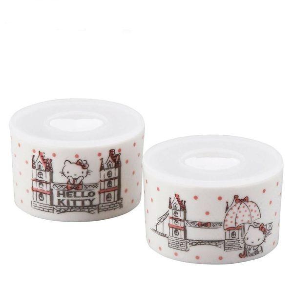 日本製kitty密封罐收納罐小菜罐分菜罐2入組226056通販屋