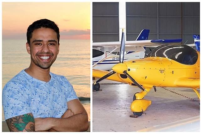 ▲澳洲一名男子 22 歲被開除後創業,成功晉升富豪。(合成圖/翻攝自 Neel Khokhani 臉書、 @SoarAviationAu 推特)