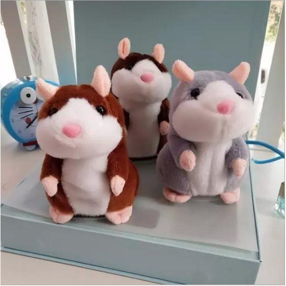 會說話的倉鼠 老鼠 錄音鼠 可愛倉鼠 錄音老鼠 會說話 生日禮物 交換禮物