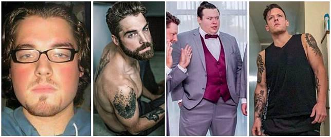 12 Potret sebelum dan sesudah nge-gym ini manglingi