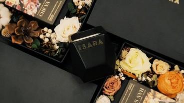 東方精油香氛蠟燭『ISARA』奢華首推聖誕花卉香氛限量禮盒