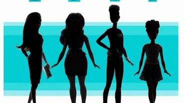 別再說「她」過瘦了! 芭比娃娃將會推出三款「符合現實」的體型!