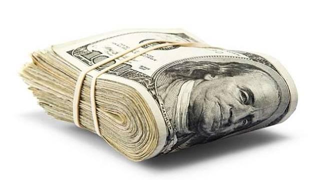 Ilustrasi gepokan uang. (Shutterstock)