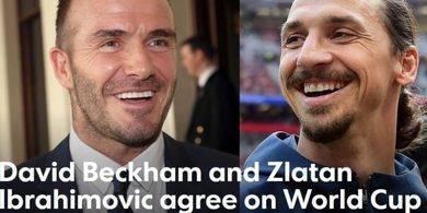 Kalah Bertaruh dengan Beckham, Ibrahimovic Siap Pakai Kostum Inggris