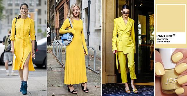 搶先穿上秀場流行色~拍照上鏡就穿復古黃,一路吸讚到2020