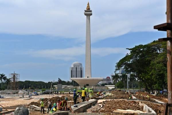 Pemprov Jakarta diminta hentikan proyek revitalisasi Monas