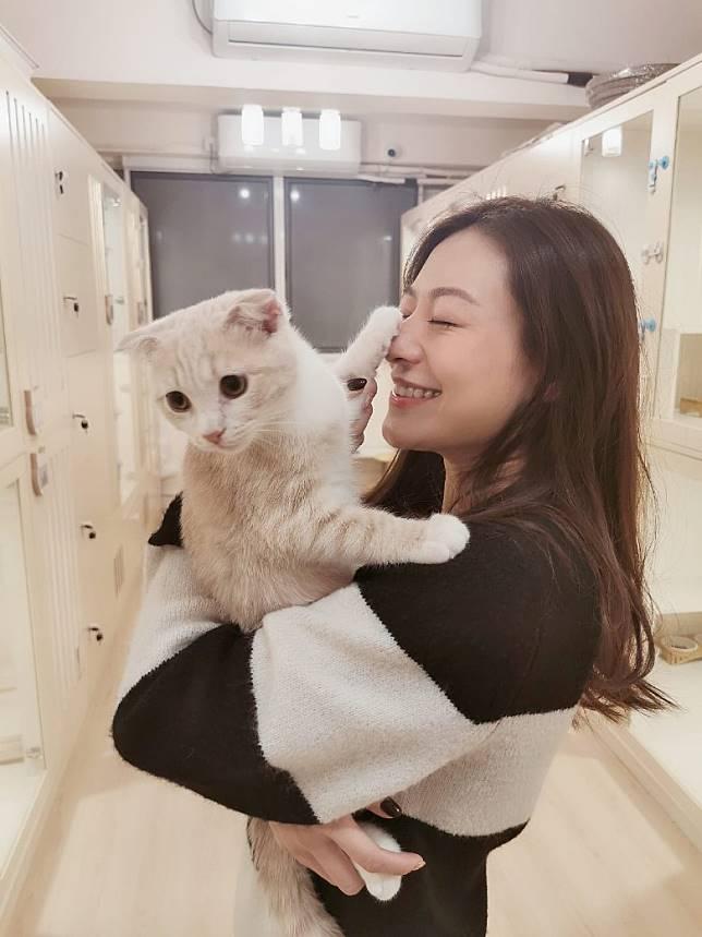 江若琳有意將貓酒店多元化,開畫貓班及動物傳心術。