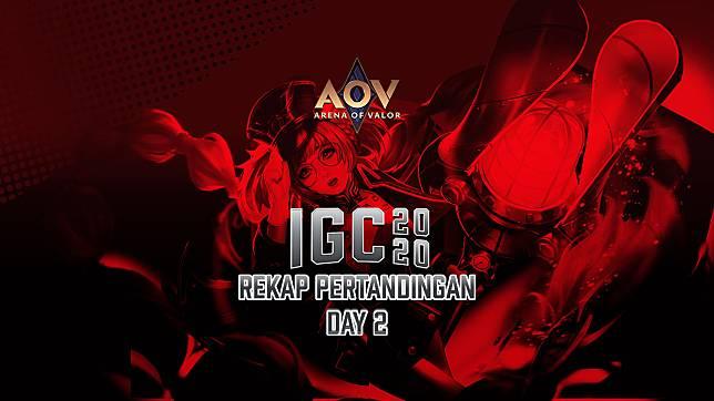 Rekap AOV National Qualifier IGC 2020 Day 2: Ravalda Mengganas Pakai Richter!