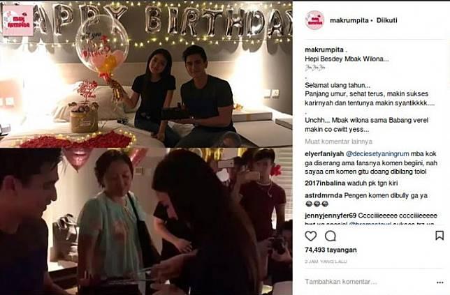 Verrell Bramasta Berikan Kata Romantis Buat Natasha Wilona Bikin Baper