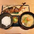 サバの塩焼きランチ - 実際訪問したユーザーが直接撮影して投稿した代々木魚介・海鮮料理いかの墨 新宿駅南口マインズタワー店の写真のメニュー情報