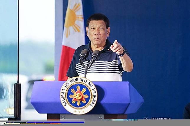 菲律賓總統杜特蒂:abs-cbn news