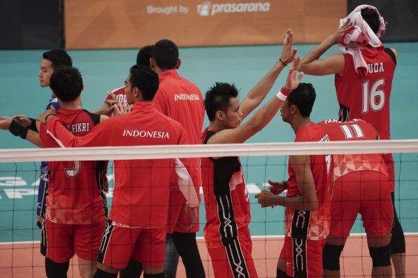 Tim voli Putra Indonesia di SEA Games 2017 Malaysia
