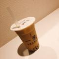 タピオカミルクティー - 実際訪問したユーザーが直接撮影して投稿した新宿タピオカ一芳 新宿店の写真のメニュー情報