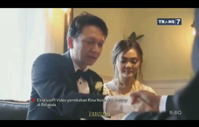 Menikah di Belanda, Rina Nose - Josscy Akan Menggelar Resepsi di Jakarta ?