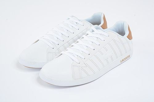 LACOSTE 男鞋 白黃色 / 皮質 -GRADUATE 318 1- 鞋款 ( 36SPM0021-Y05) 18C