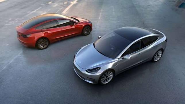Tesla Model 3. [AFP]